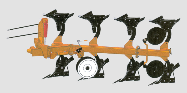 Плуг навесной оборотный 4-х корпусный (3+1)