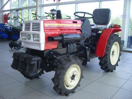 Мини-трактор Mitsubishi Shakti MT 180D