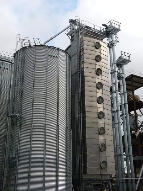 Зерносушилка стационарная RIELA GDT 400