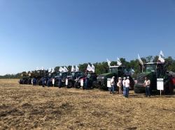 Официальный дилер AGCO-RM провел День поля Fendt и Valtra в Краснодарском крае