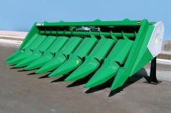 Преимущества применения херсонских жаток для уборки кукурузы КМС-8