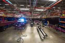 Завод КЛААС увеличил к осени этого года штат сотрудников на 10%