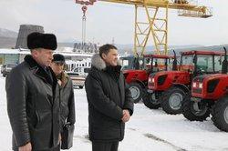 В Сахалине получили первую партию сельхозтезники