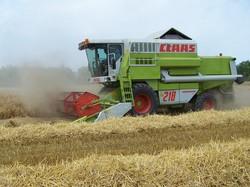 Зарубежные комбайны украинской сборки на страже богатого урожая?