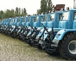 Производство тракторов в Украине существенно увеличилось