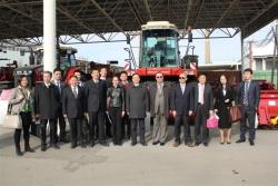 «Ростсельмаш» планирует продавать свои комбайны в Китае