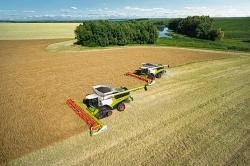 Компания CLAAS представляет второе поколение зерноуборочных комбайнов LEXION