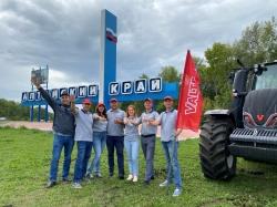 Демонстрационный тур машин Valtra в Алтайском крае