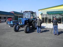Получить в подарок трактор за спасение села...