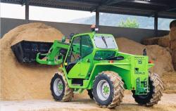 Новая серия сельхозпогрузчиков Turbofarmer от Merlo