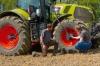 На тракторах CLAAS появится опционная система регулирования давления в шинах