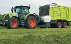 Новая разработка от Claas прицеп Cargos 8000