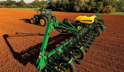 Скоростная система посева 2015 года от John Deere