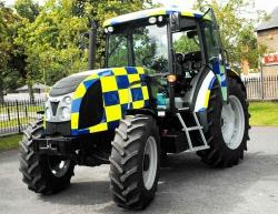 Тракторы на страже порядка