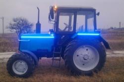 Внешний тюнинг трактора МТЗ: совершенствуем своими руками