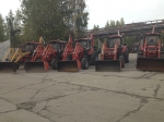 Экскаваторная навеска на базе трактора Беларус-92П