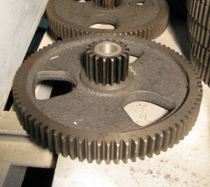 Блок зубчатый Z 82+Z 17 для зернометателя ЗМ-60У