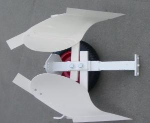 оборотный плуг зыкова для мотоблока в сборе