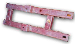 Рамка горизонтального редуктора к транспортеру ТСН-3Б