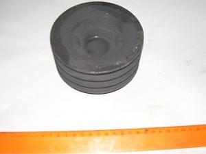 Шкив 3-х руч.эл.двиг. D=125 для зернометателя ЗМ-60А