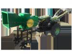 Рубильная машина (измельчитель веток) мотоблочная