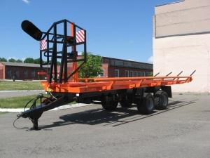 фото Полуприцеп транспортировки рулонов самосвальный ПТР-12С