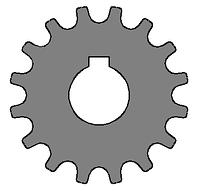 050321-01-001 (Е) Полумуфта зерноуборочного комбайна CASE