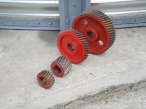 Шестерня к вальцовому станку А1-БЗН (стальная) Z 23