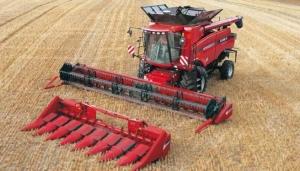 Комбайн зерноуборочный Case IH Axial-Flow 6130 с зерновой жаткой FLEX 3020