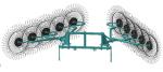 Грабли-ворошилки OGR-10 7,5м