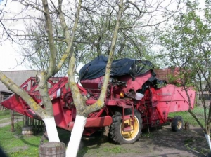 Комбайн зерноуборочный Massey Ferguson 86