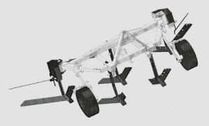 Культиватор КНВ-3 с межкустовой обработкой