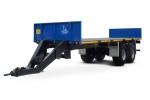 фото Прицеп для перевозки  овощных контейнеров  и цилиндрических  тюков сена (соломы) Тонар-ПТ7