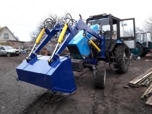 Фронтальный погрузчик КУН на трактор МТЗ-80, МТЗ-82