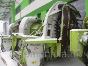 Жатка кукурузная роторная CLAAS RU-450 XTRA