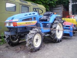 Мини-трактор исеки