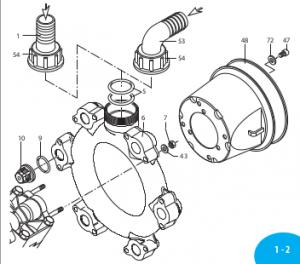 759051 Клапан в сборе AR-250bp
