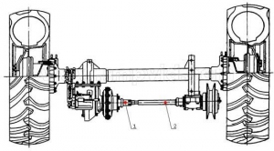 54-62252 Вал приводной