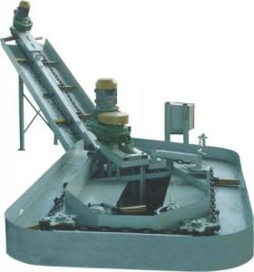 Устройство поворотное горизонтального транспортера к транспортеру ТСН-2Б
