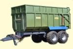 Тракторный самосвальный полуприцеп ТСП-26. Фирма-производитель: Завод Кобзаренка