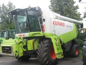 Комбайн зерноуборочный Claas Lexion 570 montana