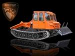 Трелевочный трактор МСН-10-003 с трехместной кабиной