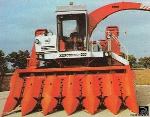 Комбайн Херсонец 200 КСКУ-6