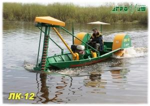 фото Лодка-косилка