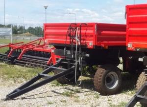 фото Прицеп тракторный самосвальный 2ZKT-4,5