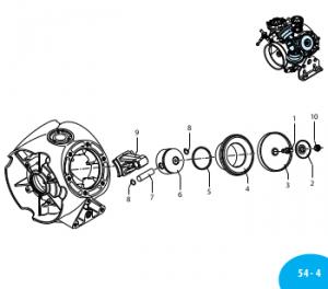 2240085 Мембрана рабочая (десмопан) BHA-150