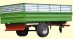 Тракторный самосвальный полуприцеп ТСП-6т. Фирма-производитель: Завод Кобзаренка
