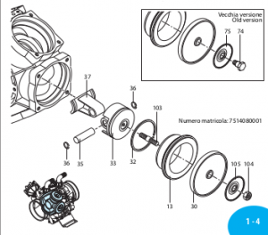 160691 Запорное кольцо AR-250bp