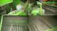 Картофелеуборочный комбайн зеленый