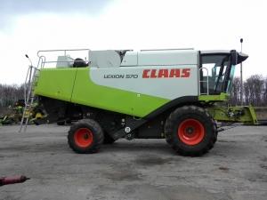 Комбайн зерноуборочный Claas Lexion 570